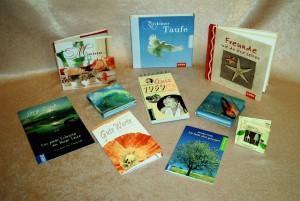 Eine Auswahl an Geschenkbüchern